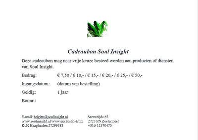 Cadeaubon Soul Insight