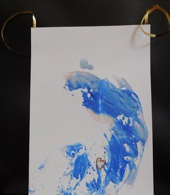 Aanraakschilderij Taking time for yourself (kinderen) Children's Support Series